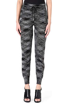 M MISSONI Knitted jogging bottoms