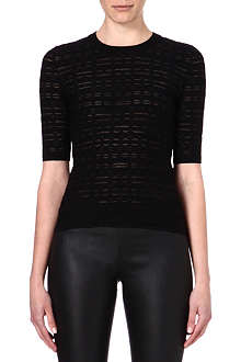 M MISSONI Three-quarter length sleeve knitted top