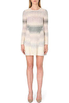 M MISSONI Ombre-knit structured dress