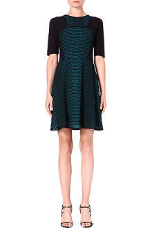M MISSONI Short sleeve cotton-blend dress