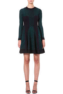 M MISSONI Contrast-panel knitted dress