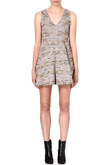 M MISSONI Fitted bodice tweed dress