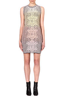 M MISSONI Sleeveless snake print dress