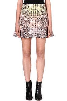 M MISSONI Snake print flare skirt