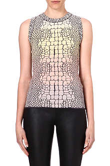 M MISSONI Sleeveless snake skin top