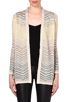 M MISSONI Semi-sheer knitted cardigan
