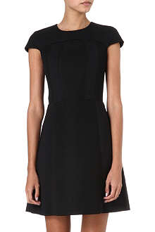M MISSONI Stretch-crepe and mesh dress