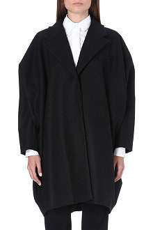 MM6 Oversized felt coat