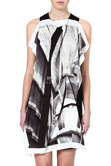 MM6 Draped-front dress