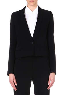 MM6 Fluid crepe blazer