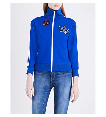 PREEN LINE Irrissa cotton-jersey jacket (Cobalt+blue