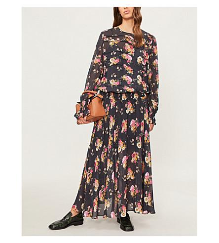 PREEN LINE Rylee printed chiffon maxi dress