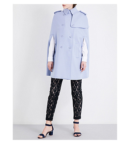 RED VALENTINO Double-breasted wool-blend coat (Ortensia
