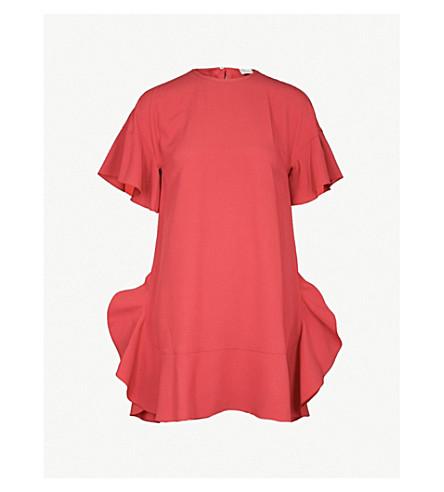 RED VALENTINO 领带弓绉连衣裙 (Oleandro