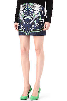 EMMA COOK Pop printed mini skirt
