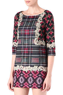 EMMA COOK Bargello shift dress