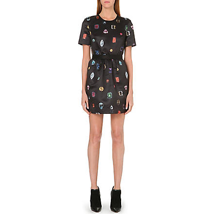 MARKUS LUPFER Vivian jewelled dress (Black