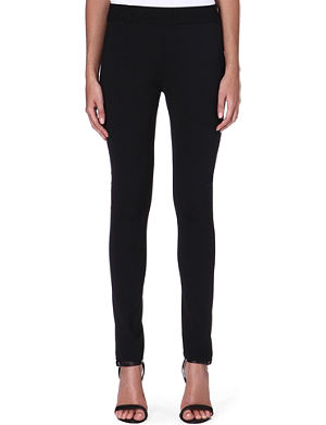 ACNE Skinny high-rise wool-blend trousers