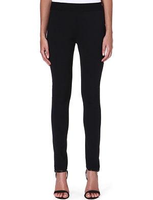 ACNE Skinny high-rise wool-blend trousers