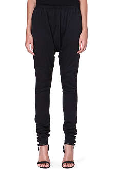 ACNE Skinny stretch-silk trousers