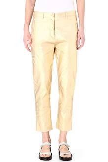 ACNE Kone metallic trousers