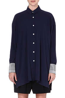 ACNE Linger Ribbon oversized shirt