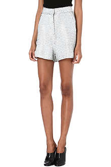ACNE Sequinned shorts