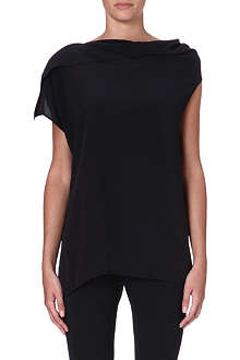 ACNE Leni silk top