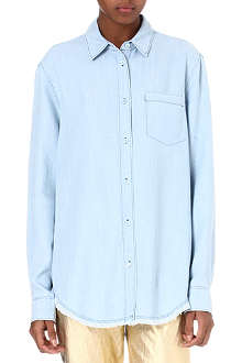 ACNE Bleached denim shirt