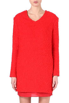 ACNE Alisa bouclé dress