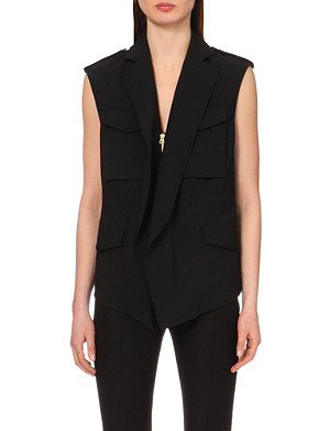 ACNE STUDIOS Revel pocket-detail waistcoat
