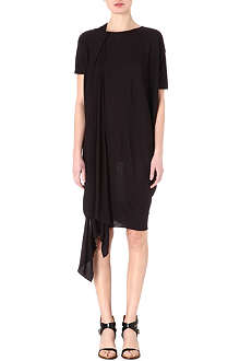 ACNE Tammi draped jersey dress