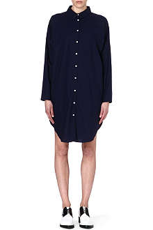 ACNE Long-sleeved cotton shirtdress