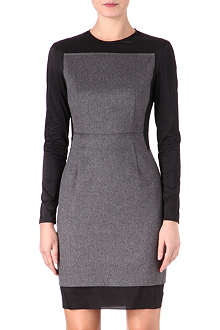 ACNE Lucille two-tone dress