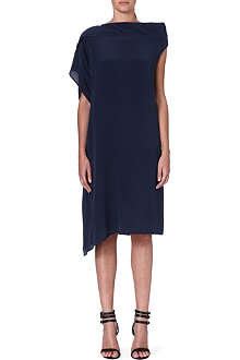 ACNE Asymmetric silk dress