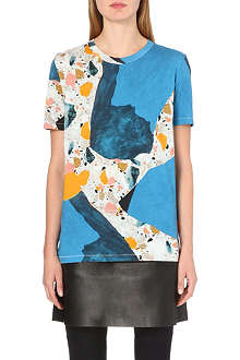 ACNE Vista light terazzo-print t-shirt
