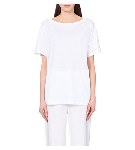ACNE STUDIOS Martina cotton-jersey t-shirt (Optic white