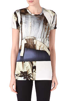 ACNE Denim-print t-shirt