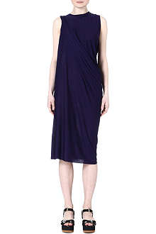 ACNE Draped jersey dress