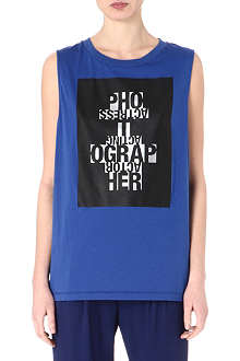 ACNE Zony Theatre sleeveless top