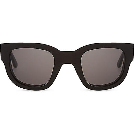 ACNE Black frame sunglasses (Black