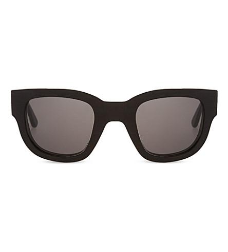 ACNE Black frame sunglasses (Black