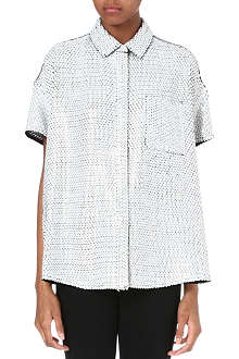 ACNE Sequin silk shirt