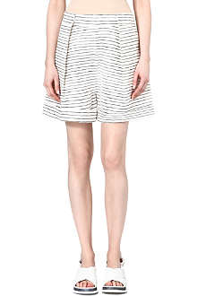 ACNE Sea striped shorts