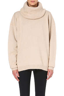 ACNE Demi mix knitted jumper