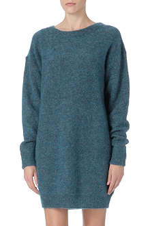 ACNE Wham Moh knitted jumper dress