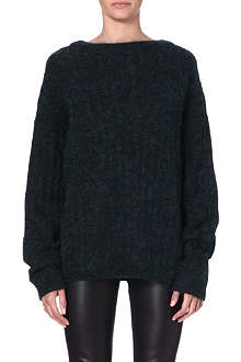 ACNE Mohair and wool-blend jumper