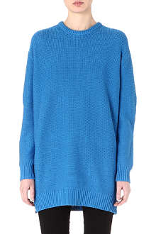 ACNE Sade long knitted jumper