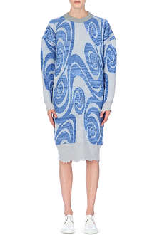 ACNE Gia oversized knitted dress