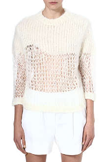 ACNE Loose knit mohair jumper